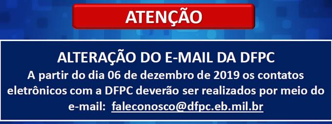 ALTERAÇÃO DE E-MAIL