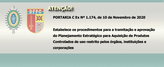 PORTARIA C Ex Nº 1.174, de 10 de Novembro de 2020