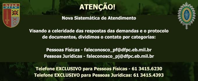ATENÇÃO - NOVA SISTEMÁTICA DE ATENDIMENTO