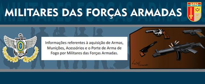 Informativo para Militares das Forças Armadas
